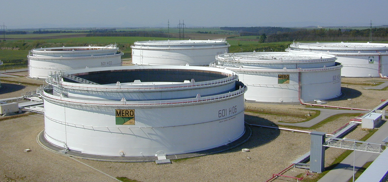 We have experience in storage tanks