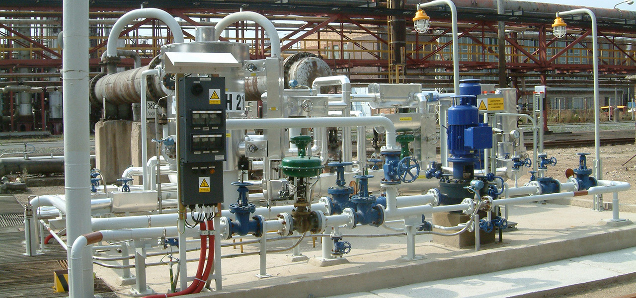 We have expertce in selecting corrosion protection systems for downstream